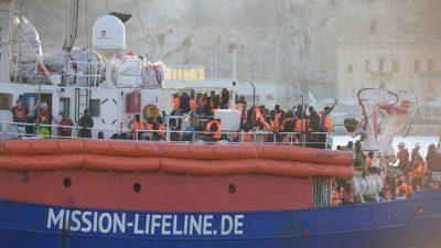"""""""Seenotrettung"""": EU-Grünen-Politiker Marquardt will Schiffe der Bundesländer im Mittelmeer"""
