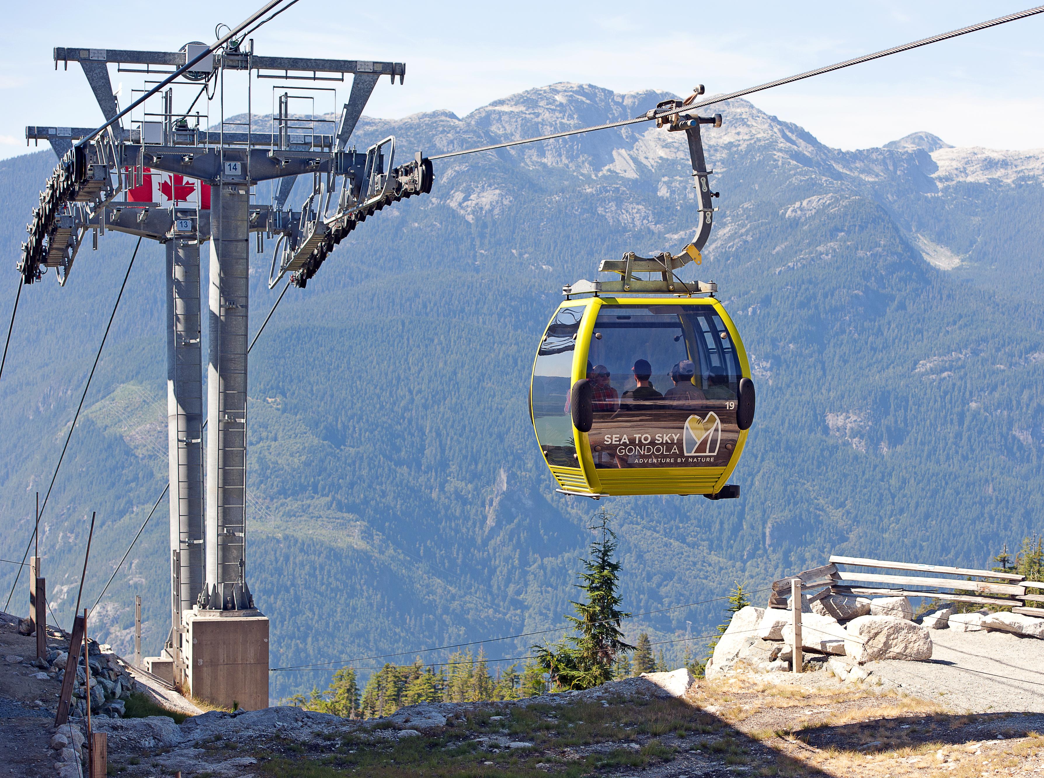 30 Seilbahngondeln stürzen nach Sabotage in Kanada ab