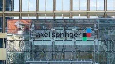 US-Investor KKR hält jetzt über 40 Prozent der Axel Springer-Anteile