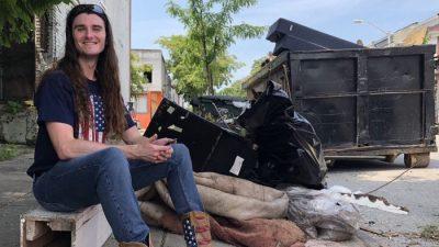 USA: Baltimore versinkt im Müll – Konservativer Aktivist entsorgt 12 Tonnen von den Straßen