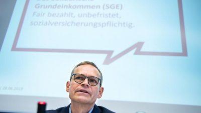Solidarisches Grundeinkommen in Berlin: Erste Verträge