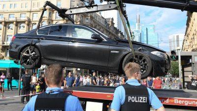 Nach Bankeinbruch am Bahnhof Frankfurt läuft Fahndung weiter