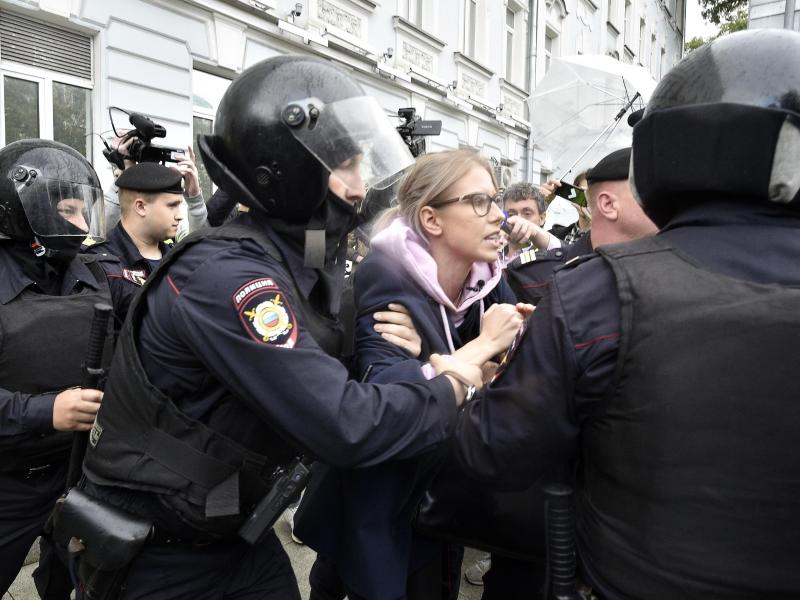Nawalny-Unterstützerin Sobol sieht sich als Opfer staatlicher Racheaktion
