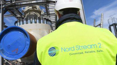 """Schäuble kritisiert deutsche Politik bei Nord Stream 2: Hat """"viel Vertrauen zerstört"""""""