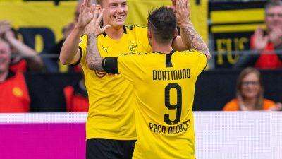 Champions League Auftakt: 0:0 bei Top Duell Borussia Dortmund gegen FC Barcelona