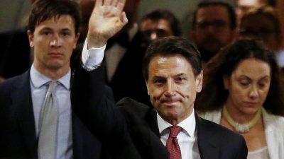 Italien: 5 Sterne Bewegung und italienische Sozialdemokraten zufrieden mit ihren Gesprächen