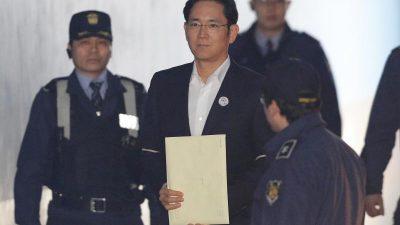 Bestechung, Untreue und Meineid: Samsung-Erben droht neue Haftstrafe wegen Korruption
