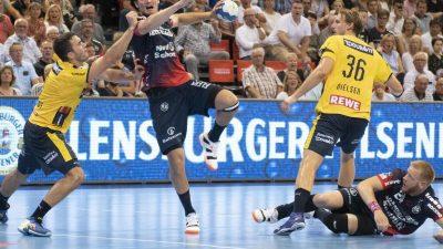 Flensburg gewinnt erstes Topspiel gegen Löwen