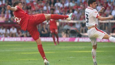 Nach Fehlstart: Bayern deklassieren Mainz – Coutinho blass