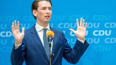 """Wahlkampf in Österreich: Liste """"Jetzt"""" beantragt Kanzleramtssperre für Kurz im Parlament"""