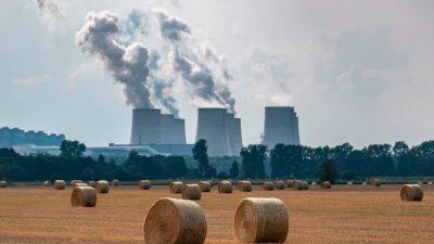 Mehr Strom mit Braun- und Steinkohle inDeutschland