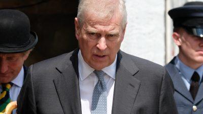 """US-Staatsanwalt wirft Prinz Andrew """"null Kooperation"""" bei Epstein-Ermittlung vor"""