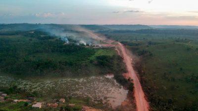 """Amazonas-Länder wollen """"Überleben unseres Planeten"""" mit neuem Pakt sichern"""