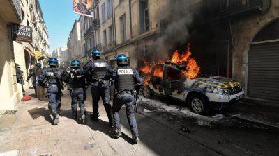 """Suizidserie unter Polizisten: Französische Polizeigewerkschaft ruft zum """"Wutmarsch"""" auf"""