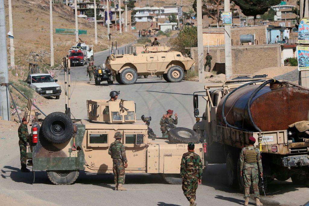 Taliban greifen erstmals seit Rückzug internationaler Truppen Provinzhauptstadt an