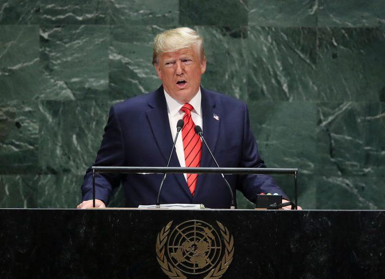 Trump fordert Reform des Welthandels: Handel soll ausgeglichen, fair und wechselseitig sein