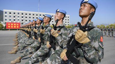 China: Militär durchdringt zunehmend die zivile Wirtschaft