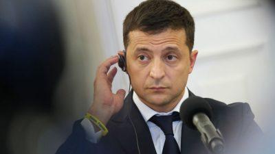 "Selenskyj nennt Nord Stream 2 ""Bedrohung"" für Europa"