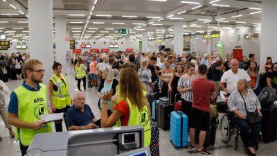 Rückflüge nach Großbritannien und bezahlte Hotelzimmer: Mangelware
