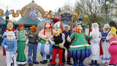 Asterix wird 60: Zwei-Euro-Gedenkmünze zu Ehren des unbeugsamen Galliers