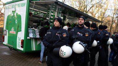Polizeikostenstreit: Deutsche Fußballliga überweist 1,17 Millionen Euro an Bremen