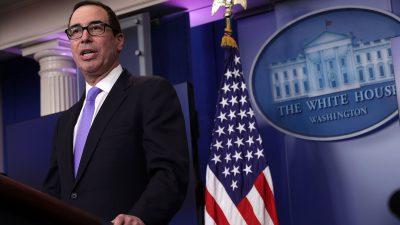 Neue US-Sanktionen gegen russische Bürger und Unternehmen wegen vermuteter Wahleinmischung