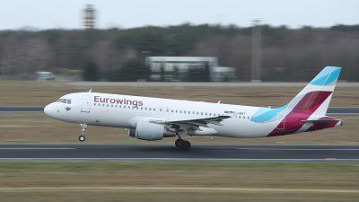 Flugverkehr läuft nur sehr langsam wieder an