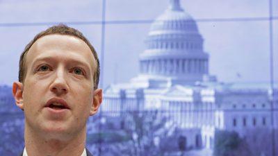 Wahlaufsicht USA: Zuckerberg beeinflusste Wahl durch Spenden