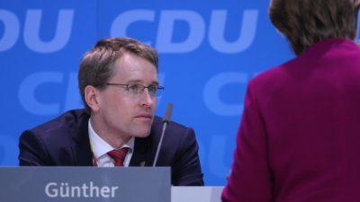 Schleswig-Holsteins Ministerpräsident: Unsere Gesamtperformance war keine Hilfe für die Landtagswahlen