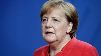 """Merkel: Konjunkturentwicklung ist """"besorgniserregend"""""""