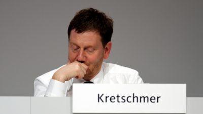 Ministerpräsident Kretschmer besucht die Antifa nach Steinigung der Polizei