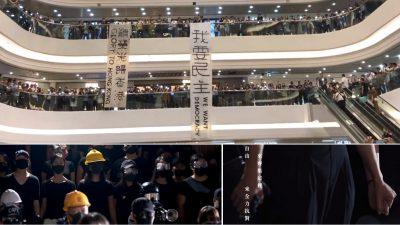 """Hongkonger Freiheits-Hymne im Kampf um die Heimat: """"Demokratie und Freiheit, langersehnt"""""""