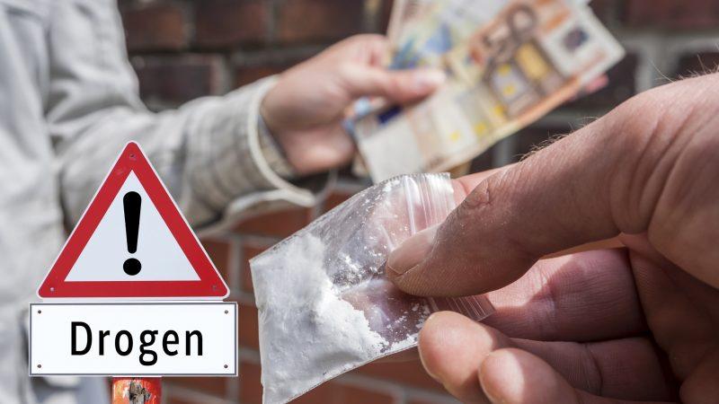 Eine Person mit einer Drogensucht datiert