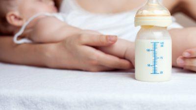 """""""Muttermilchnahe"""" Babynahrung und der Anstieg von Zivilisationskrankheiten"""