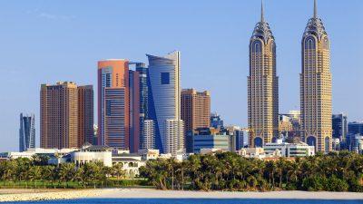 Ehepaar in Dubai läuft Marathon auf dem 20-Meter-Balkon