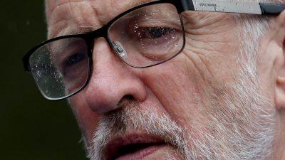 Labour suspendiert Ex-Parteichef Corbyn nach Antisemitismus-Vorwürfen