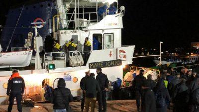 """Italienische Behörden beschlagnahmen NGO-Schiff """"Mare Jonio"""""""