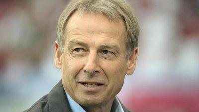 Kein Einstieg beim VfB Stuttgart: Jürgen Klinsmann sagt ab