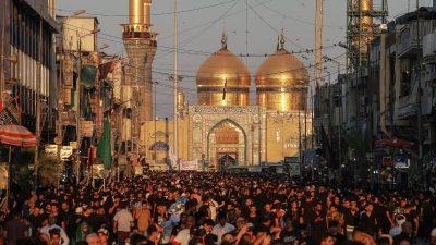 Aschura-Fest: Mindestens 31 Tote und 100 Verletzte bei Massenpanik im Irak