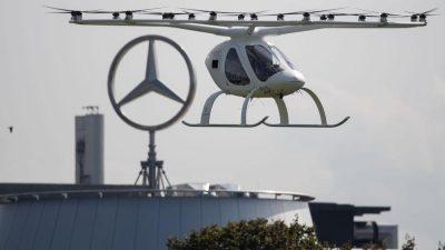 Paris testet Flugtaxis von deutschem Hersteller Volocopter