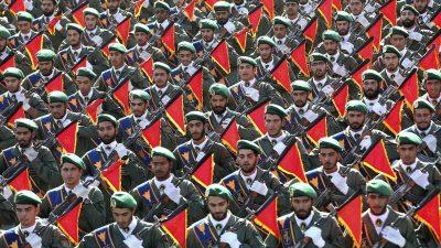 Iranische Revolutionsgarden drohen ausländischen Regierungen