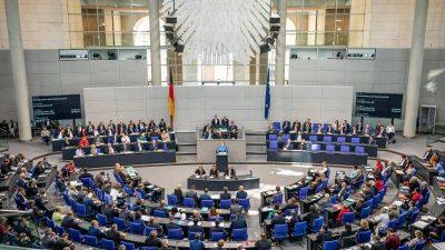 Bundestagsdebatte: Linke will Schuldenbremse aus Grundgesetz streichen – FDP will ein Update