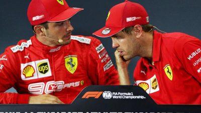 Vettel vs. Leclerc: Explosives Ferrari-Duell geht weiter