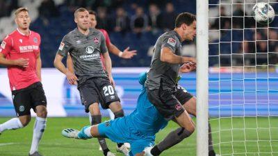 Hannover 96 verliert klar gegen 1. FC Nürnberg