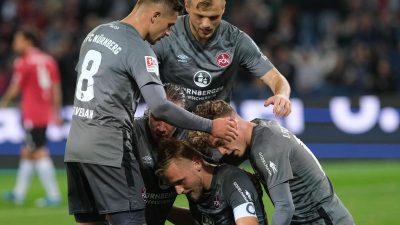 Hannover 96 verliert klar gegen den 1. FC Nürnberg