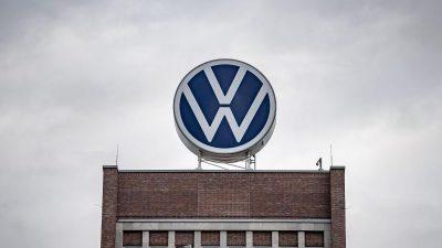 VW nimmt Autoproduktion noch im April wieder auf