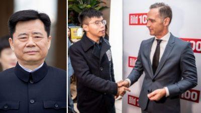China droht Deutschland ganz offen – Botschafter formal einbestellt