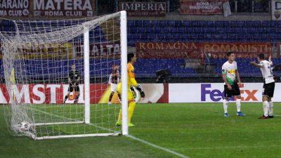 Europa League: Stindl rettet Gladbach mit Elfmeter in letzter Sekunde gegen AS Rom