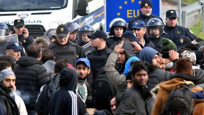 Drohende Eskalation in Bosnien: Lage in Bihać spitzt sich wegen Zustrom illegaler Migranten drastisch zu