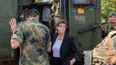 SPD-Fraktionsvize warnt AKK vor nationalen Alleingängen